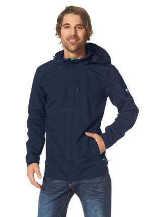 Куртка-дождевик Otto. Цвет: синий