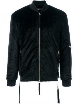 Куртка бомбер Zapp Blood Brother. Цвет: чёрный