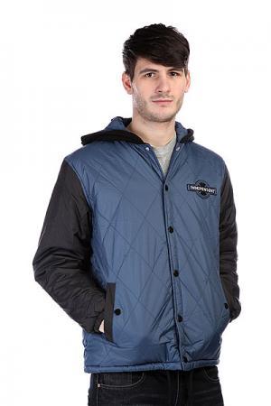 Куртка  League Jacket Navy Black Independent. Цвет: черный,синий