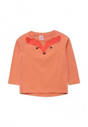 Лонгслив Sela. Цвет: оранжевый