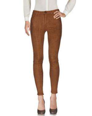Повседневные брюки FIVEUNITS. Цвет: коричневый