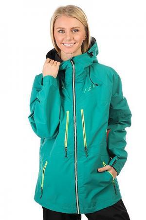 Куртка утепленная женская  Gear Stella Emerald Trew. Цвет: зеленый