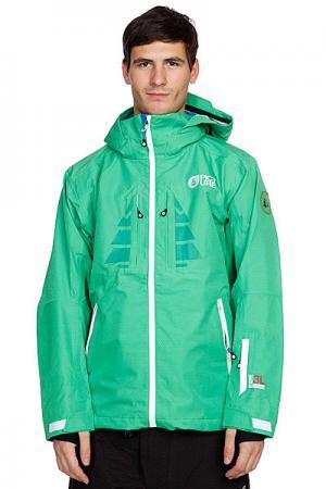 Куртка  Welcome Jkt Green Recyclable Picture Organic. Цвет: зеленый