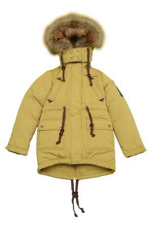 Куртка-парка Arctic Goose. Цвет: зеленый