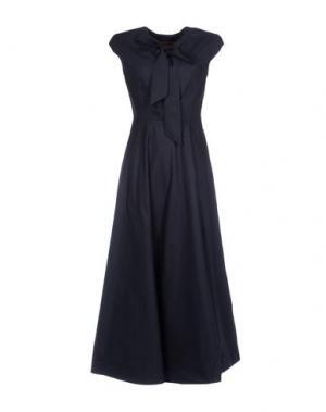Длинное платье COLLECTION PRIVĒE?. Цвет: темно-синий