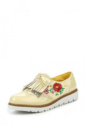 Ботинки Mellisa. Цвет: желтый