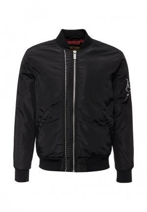 Куртка утепленная Paragoose. Цвет: черный