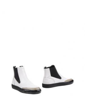 Полусапоги и высокие ботинки SARTORI GOLD. Цвет: белый