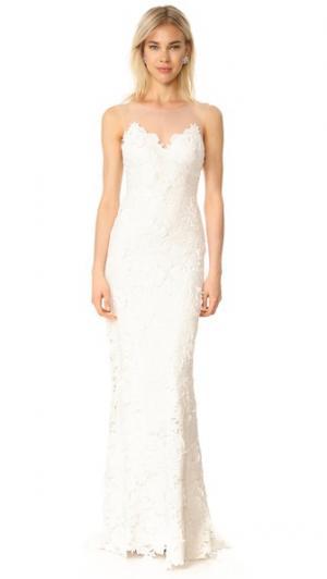Вечернее платье Jolie Catherine Deane. Цвет: золотой