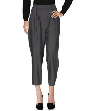 Повседневные брюки FEDERICA TOSI. Цвет: серый