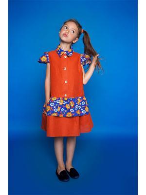 Платье для девочки Оранжевое лето PrettyBaby