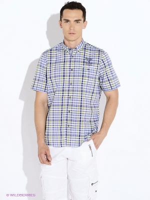 Рубашка LERROS. Цвет: зеленый