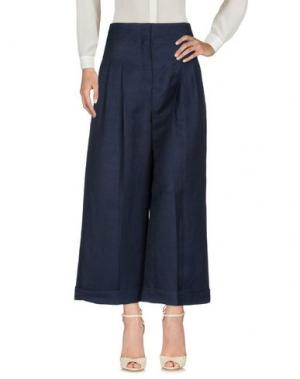 Повседневные брюки CÉLINE. Цвет: темно-синий