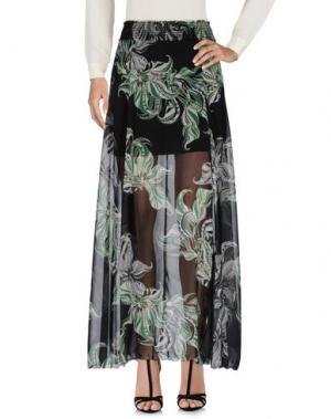 Длинная юбка GLAM. Цвет: черный