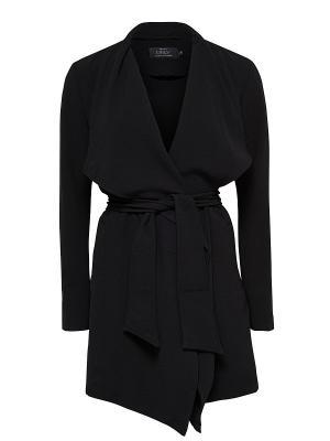 Пальто ONLY. Цвет: черный