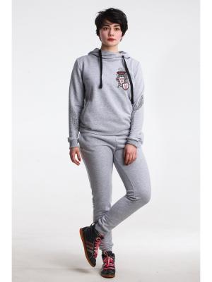 М-755-29 комплект женский (джемпер+брюки) Modno.ru. Цвет: светло-серый