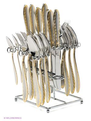 Набор столовых приборов Bekker. Цвет: серебристый