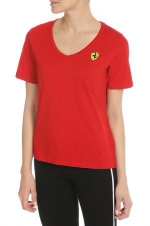 Футболка Скудерия Феррари Ferrari. Цвет: красный