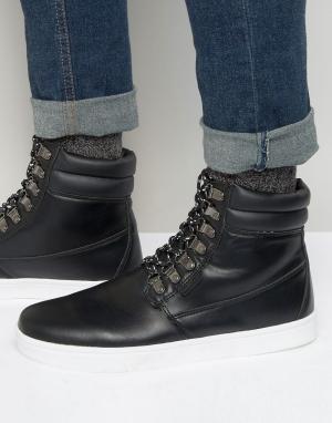 Rock & Religion Походные ботинки. Цвет: черный
