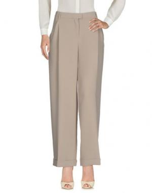Повседневные брюки NANUSHKA. Цвет: голубиный серый