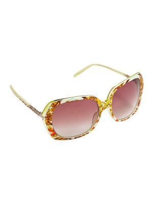 Солнцезащитные очки Kameo-bis. Цвет: белый, оранжевый, желтый