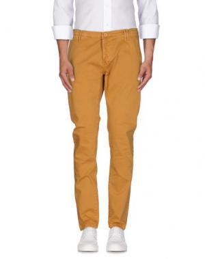 Повседневные брюки (M) MAMUUT DENIM. Цвет: коричневый