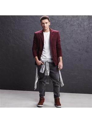Пиджак Cropp. Цвет: бордовый