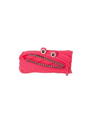 Пенал-сумочка GRILLZ POUCH, цвет розовый ZIPIT. Цвет: розовый