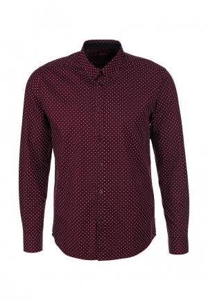 Рубашка Merc. Цвет: бордовый