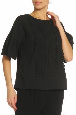 Блуза ZHOR&NEMA. Цвет: черный
