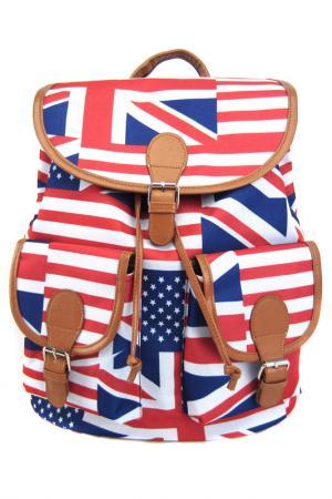 Рюкзак American Flag Creative. Цвет: мультицвет