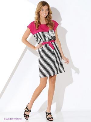 Платье Malvin. Цвет: малиновый