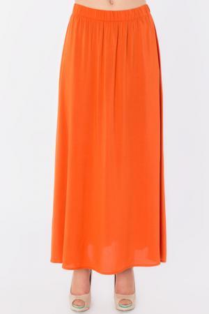 Юбка S&A style. Цвет: оранжевый