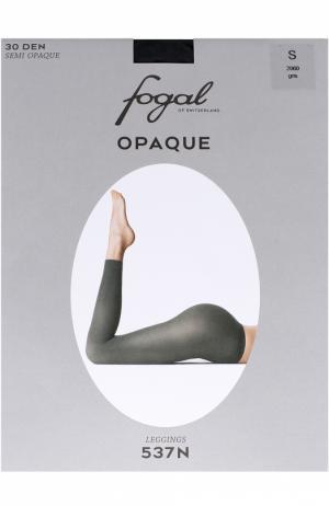 Укороченные леггинсы Fogal. Цвет: серый