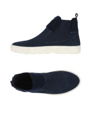 Высокие кеды и кроссовки MANUEL RITZ. Цвет: темно-синий