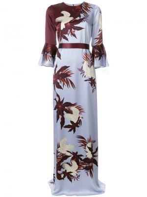 Linzea chemise dress Erdem. Цвет: синий
