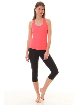 Майка Chandra Coral Urban Yoga. Цвет: коралловый