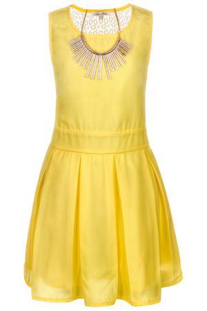 Платье NOTA BENE. Цвет: желтый