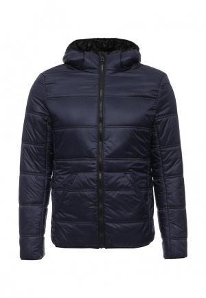 Куртка утепленная Five Basics. Цвет: синий