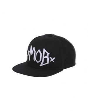 Головной убор MOB. Цвет: черный