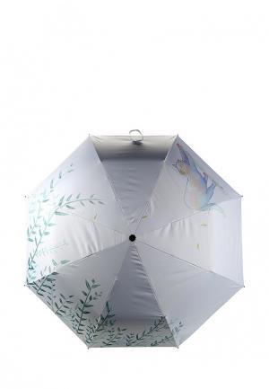 Зонт складной Kawaii Factory. Цвет: серый