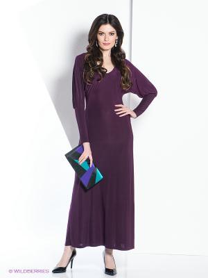 Платье МадаМ Т. Цвет: сливовый