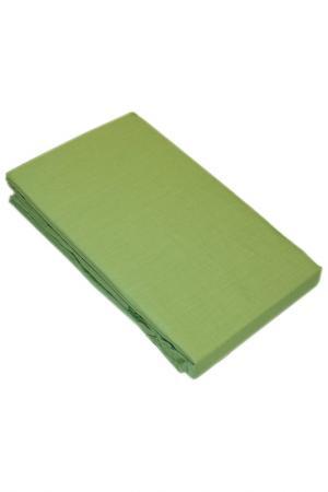 Простынь 200x220 см BegAl. Цвет: салатовый