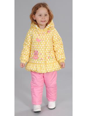 Комплект одежды Милашка Сьюзи. Цвет: желтый