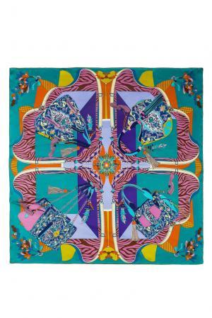 Шелковый платок 183386 Moltini. Цвет: разноцветный