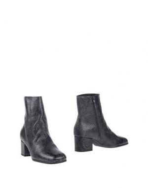 Полусапоги и высокие ботинки BAGATT. Цвет: стальной серый