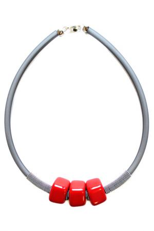 Колье Dofine small Divetro. Цвет: красный