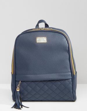 7X Рюкзак. Цвет: темно-синий