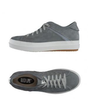 Низкие кеды и кроссовки RUCO LINE. Цвет: серый