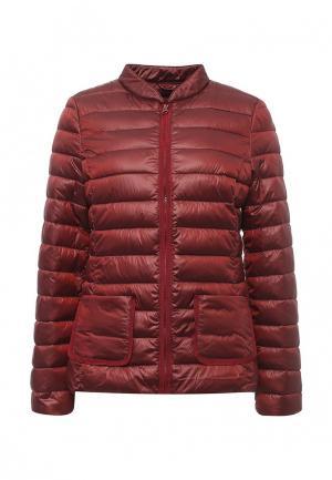 Куртка утепленная Sisley. Цвет: бордовый